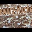 Gewürzkuchen einfach und lecker ! Christmas is Coming