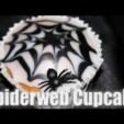 Halloween – Spinnennetz Muffins