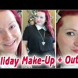 Holiday Outfit + Make-Up – Christmas is Coming