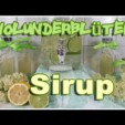 Holunderblüten Sirup – so mega lecker