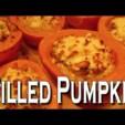 gefüllter Kürbis tolles Halloween Rezept