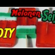 Melonen Seifen DIY – How to make a watermelon soap