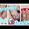 3 Christmas Winter Nail Designs (einfach und schnell)