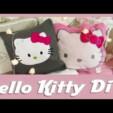 DiY Hello Kitty Kissen / DiY Hello Kitty Pillow