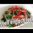 Glas Nudel Salat ( schnell einfach & lecker) Lieblings Rezept