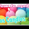 Eos Kerzen DiY / Eos Candle DiY (How to make a silicon mold)
