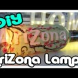 DiY AriZona Lampe –  1 Minute DiY – Arizona Tea