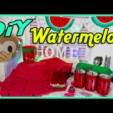 DiY Watermelon / 7 Wassermelonen DiYs / cool & easy