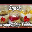 Snack To Go – einfach vorbereiten und mitnehmen