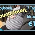 Babybauch Countdown 1 (7 Tage bis zum ET) – Country Chaos