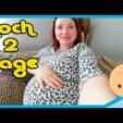 Babybauch Countdown (2 Tage bis zum ET) – Country Chaos