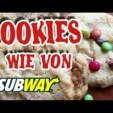 American Cookies wie von Subway selber backen