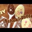DIY Muttertags Geschenk Schokolöffel