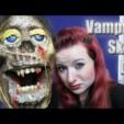 Halloween DIY: Vampir Totenkopf  Vampire Skull