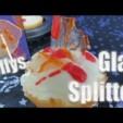 Halloween Grusel Rezept Glassplitter Cupcakes + Blutlollis