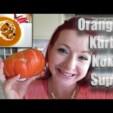 Halloween Rezept: Orangen Kürbis Kokos Suppe